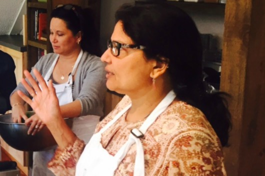 Making Indian Bread & Fresh Paneer – 9/30/17 at The Inn at Weathersfield