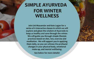 Simple Ayurveda for Winter Wellness Workshop